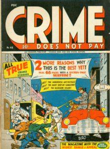 True crimen historia sarjakuvassa